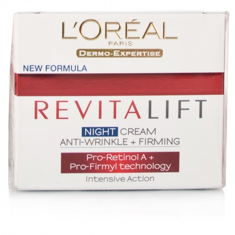 L'Oreal Revitalift Night Cream | Calpe Pharmacy – Farmacia Gibraltar