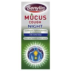 Benylin mucus cough night calpe pharmacy farmacia for Mucus fishing syndrome