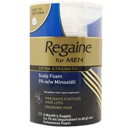 Regaine for men foam